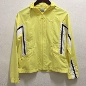 Nike Zip Up Long Sleeve Collared Jacket Small